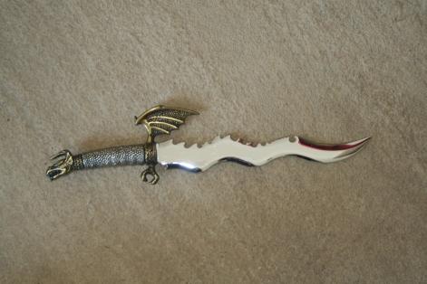 Athame ritual knife