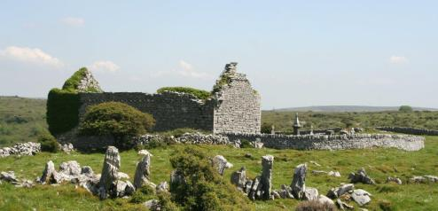 Remnants of Carran's Church