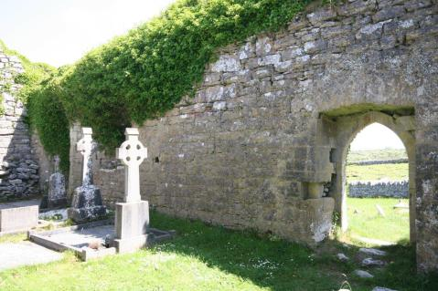 Carran Church cemetry