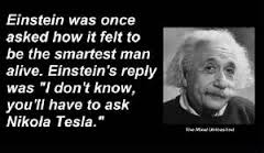 Einstein re Tesla
