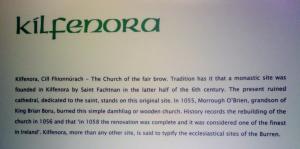 From The Burren Centre, Kilfenora