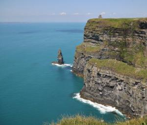 Cliffs of Mohar, O'Brien fort and Arran Islands
